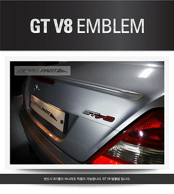 GT V8 Emblem Badge Fits: CHRYSLER 200 300 Hemi SRT Town Country Pacifica 300C