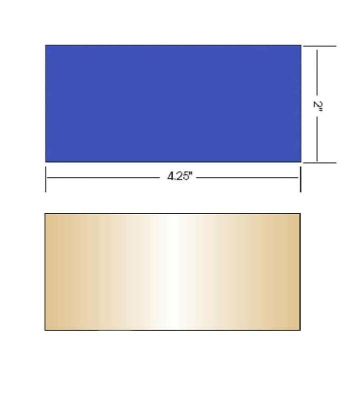 Aulektro EXTREME BLUE 2 pc set  shade 10 (small 2x4.25)