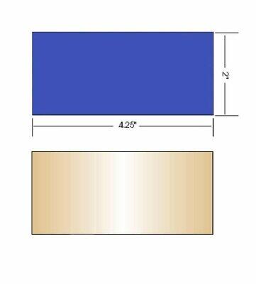 Aulektro Extreme Blue Welding Lens 2pc Set Sh 9 2x4 - Weld In Hi Definition