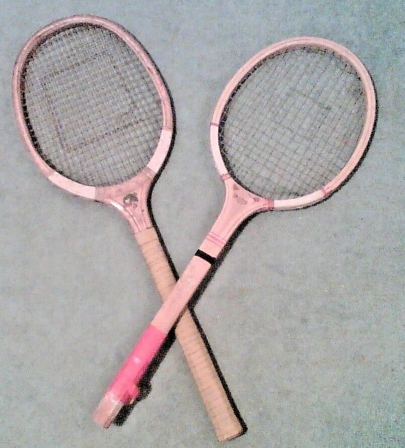 Tennis vintage rackets two  (one Champion)