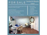 Award-Winning Sunbed & Beauty Salon for sale