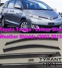 Toyota Tarago 2007 Weather Shields Window Visors Wind Shield GXL Green Valley Liverpool Area Preview