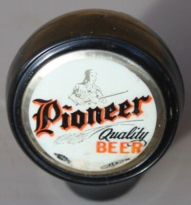 *Rifleman Design Inlay* Pioneer Beer Ball Knob / Tap Handle Aberdeen, Washington