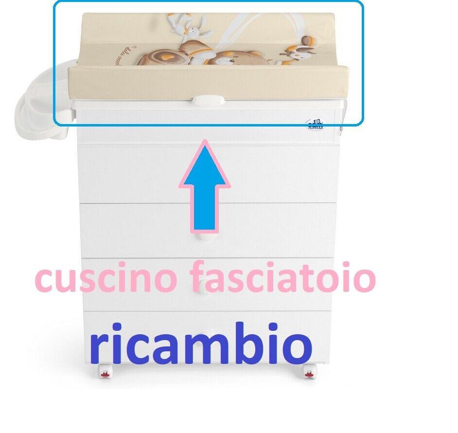 CAM FASCIATOIO PVC ricambio universale cassettiere fasciatoio IM90701-240 new-it