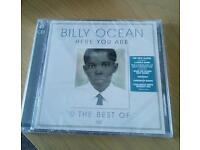 """The Best of Billy Ocean """"Here You Are"""" CD"""