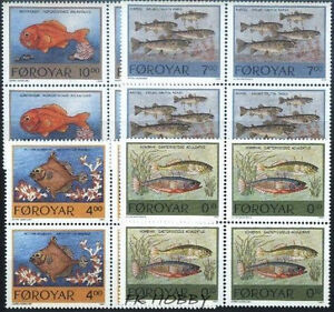 Denmark Faroe 1994 Mi 256-59 (4) ** Fish Fisch Poissons Pesce Ryby Animals Tiere - <span itemprop=availableAtOrFrom> Dabrowa, Polska</span> - Denmark Faroe 1994 Mi 256-59 (4) ** Fish Fisch Poissons Pesce Ryby Animals Tiere -  Dabrowa, Polska