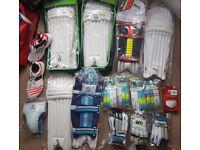 JOB LOT Cricket gear Bats Wheelie Bag Pads Helmet Gloves NEW or USED Cheap SALE Bargain Wiki keeping