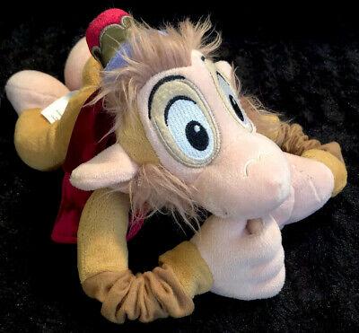 "Disney Store*Abu Monkey Plush Aladdin 13"" Toy Makes 6 Different Sounds-EUC"
