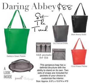 Thirty-One Daring Abbey purse in Charcoal