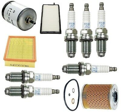 For BMW E36 325i 325is Best Value Tune Up Kit Filters Cabin & Oil &