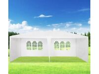 Canopy waterproof 3x6 white. has all sides