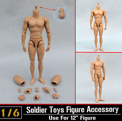 1 6 Scale Action Figure B005 Very Hot Toy Ttm19 Muscular Nude Body Usa Seller