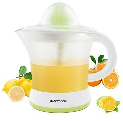 LAPTRONIX 1.2L ELECTRIC CITRUS FRUIT JUICER ORANGE JUICE EXTRACTOR SQUEEZER 25W