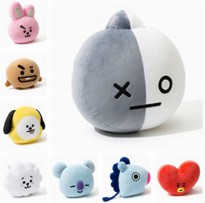 BTS BT21 TATA SHOOKY RJ KOYA CHIMMY COOKY MANG Plush Toy Pillow Doll Cushion New