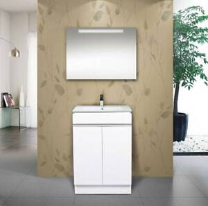 NEW ARRIVAL!!!!!!WHITE vanity - CKW 60cm wide