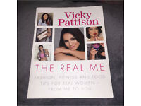 Vicky Pattison 'The Real Me' Fashion, Food and Fitness A4 Print Book