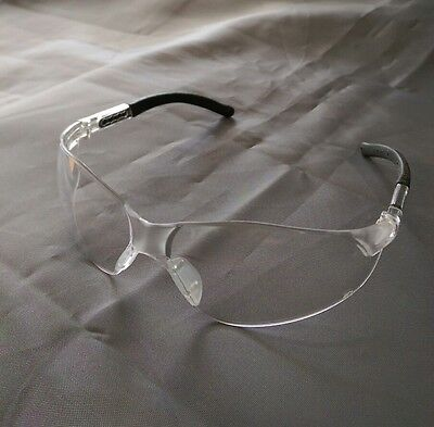 Pack Of 2 Pairs Safety Protective Eyewear Clear Lens Z87