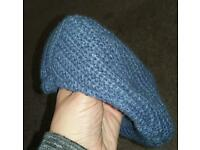 Next 3-6 months, woolly, fleece lined flat cap, new without tags