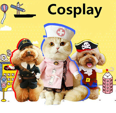 Fancy Pet Small Large Dog Halloween Costumes Riding Cowboy Knight Coat Clothes](Dog Cowboy Halloween Costumes)