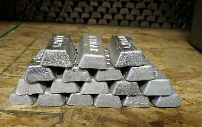 Lead Ingots 50 Pounds For Sinkers Bullets or Molds