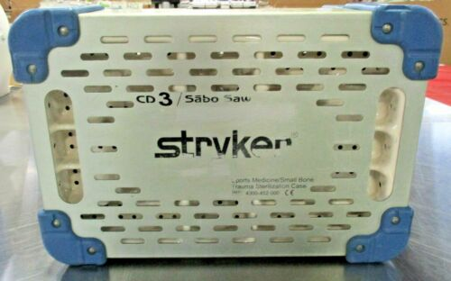 Stryker 4300-452-000 Medicine/Small Bone Trauma Sterilization Case