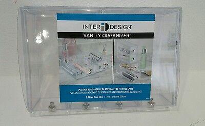 InterDesign Storage and Organization Drawers Tower, 4-Drawer Flip Makeup