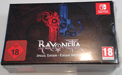Bayonetta 1   2 Special Edition New Nintendo Switch Game European Import In Hand