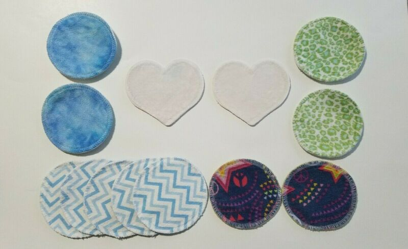 Variety Lot of Reusable Nursing Breast Pads Bamboobies
