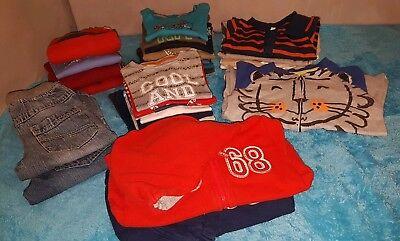 Großes Marken Kleiderpaket für Jungs in Größe 80 86 Esprit S.Oliver Adidas...