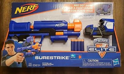 NEW Nerf N-Strike Elite Surestrike with Red Dot Sight