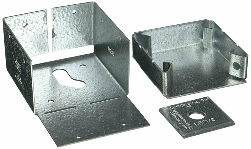 Simpson Strong Tie ABW44Z  ZMAX Galvanized 16-Gauge 4-Inch by 4-Inch...