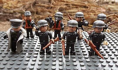 17002 WW2 Deutsche Artillerie Schützengraben inkl. 8 Minifiguren über 300 Teile