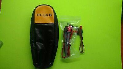 Fluke Soft Case For Clamp Meter Fc902 337 376. Fluke 80bk-a. Fluke Leads Tl71.