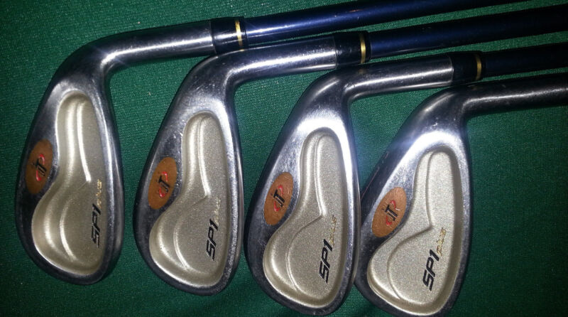 Tour Edge SP1 Plus Club Set 3-9 & Knight Golf Bag (plus cover) Combination