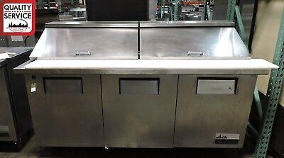 True Tssu-72-30m-b-s Mega Top Sandwich Prep Table