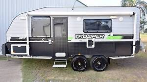 2012 18'6 LOTUS 'TROOPER' OFFROAD FULL ENSUITE CARAVAN Gympie Gympie Area Preview