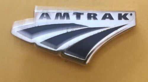 Railroad Hat-Lapel Pin/Tac -(AMT) Amtrak blue & gold #1746-NEW