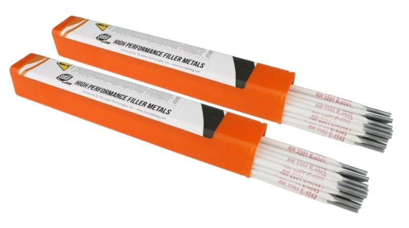 "SÜA - Aluminum E4043 Stick Electrode Rod 5/32"" x 14"" - (2 Lb)"