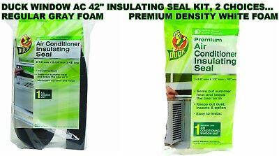 Window Air Conditioner INSULATING FOAM SEAL Gray OR Premium