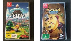 RAYMAN Legends & ZELDA Link's Awakening Nintendo Switch game like new