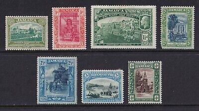 Jamaica 1919-21 GV ½d – 4d mint.