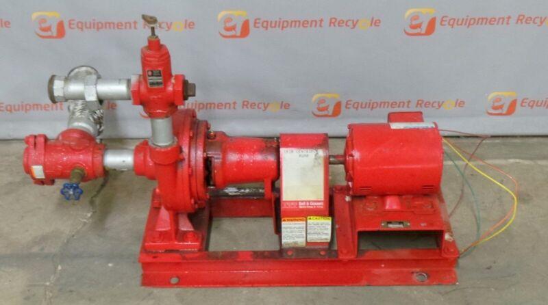 Bell & Gossett 1510 End Suction Centrifugal Pump 1800 Rpm 1 Hp