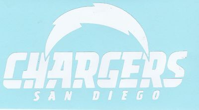 San Diego Chargers Vinyl - SAN DIEGO CHARGERS  handmade vinyl window decal