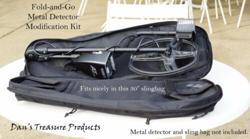 Deluxe version Fold-and-Go Kit for Garrett AT Pro Gold Max & Ace metal detector