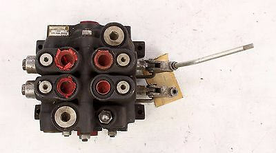 New Vs32ada9da9 Parker 2 Spool Hydraulic Valve