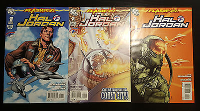 Flashpoint: Hal Jordan #1-3 Complete Mini-Series Set (2011, DC) 2 Green Lantern