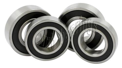 ATV Yamaha Blaster Bearing Set of 4 Front Axle Bearings