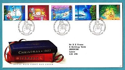 GB 1987 Royal Mail First Day Cover Christmas 1987 It's Magic CDS Edinburgh