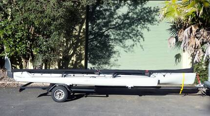 Hobie Tandem Island on registered trailer - excellent condition! Port Macquarie 2444 Port Macquarie City Preview