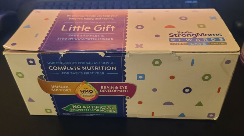 Similac Little Gift Box $100 Value Coupons inside